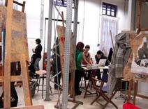 美术专业教室